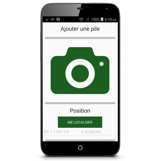 Application mobile e forestry